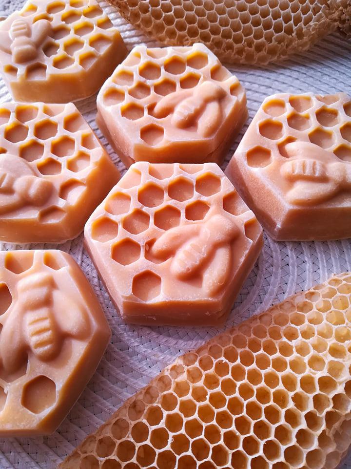 mézes méhecske szappan